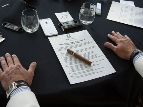 Cigar Smoking World Championship Tournament Estonia 2015