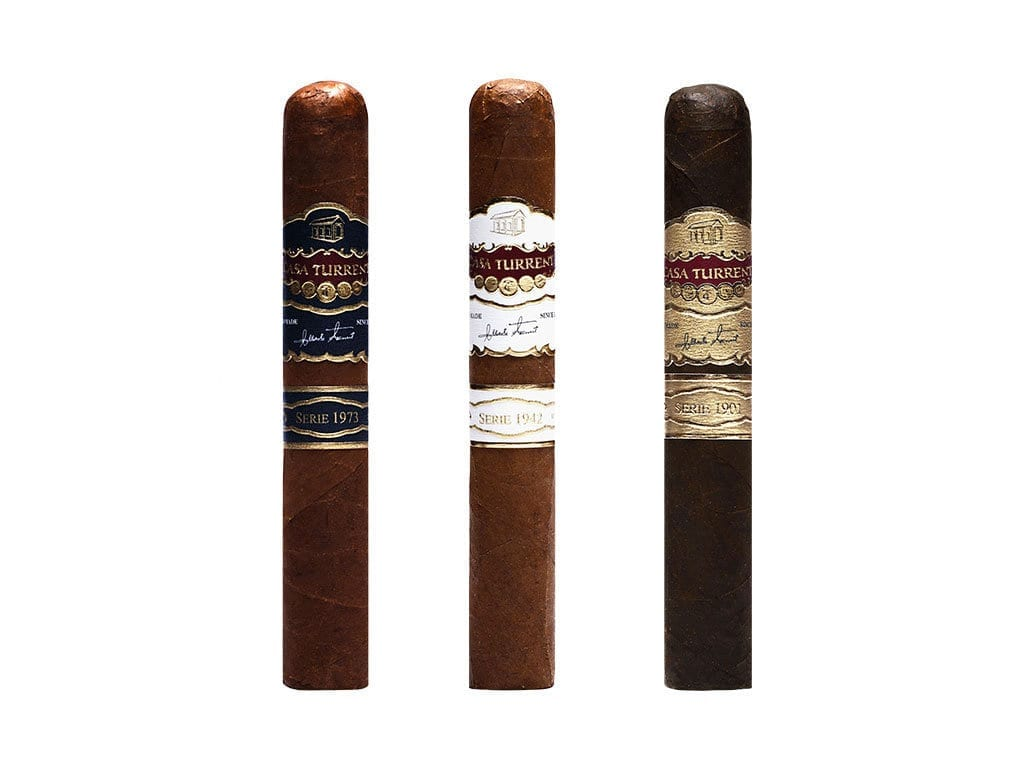 New Casa Turrent Cigar Lines 1973, 1942 & 1901