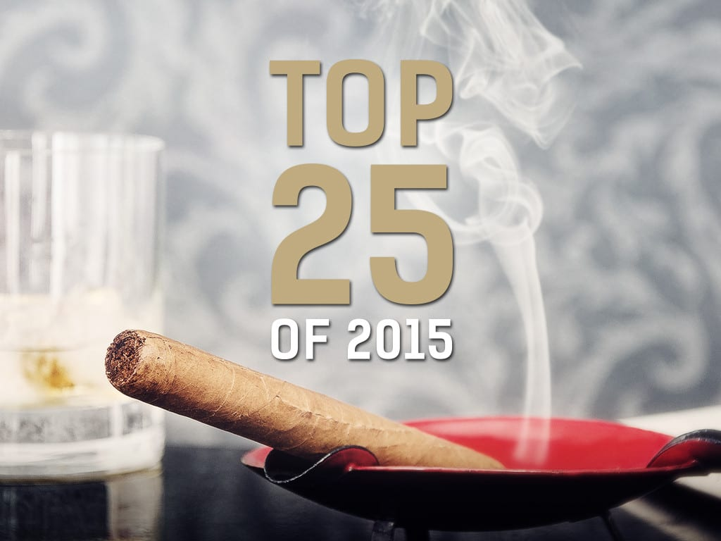 Cigar Journal Magazine Top 25 Cigars of 2015