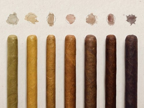 cigar wrapper colors