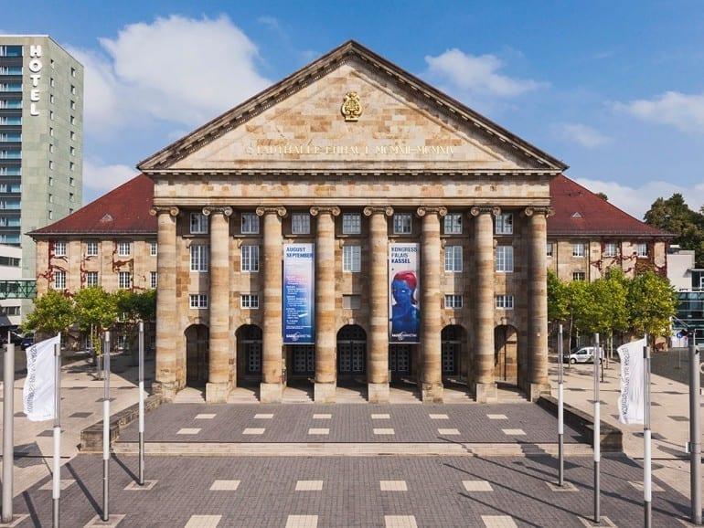 kongress palais kassel front entrance
