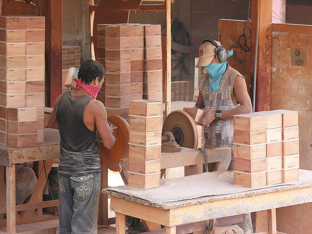 ajf cigar box production