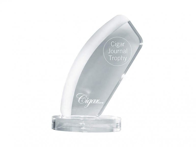 cigar journal trophy blanco trophy