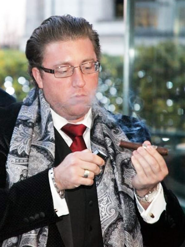 jonathan fiant lighting cigar