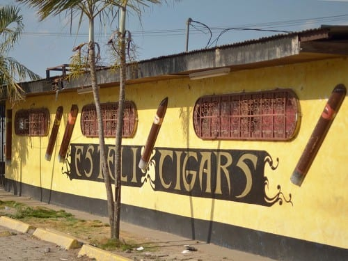 esteli cigars building small factory side view