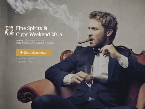 Fine Spirits Cigar Weekend Estonia 2016