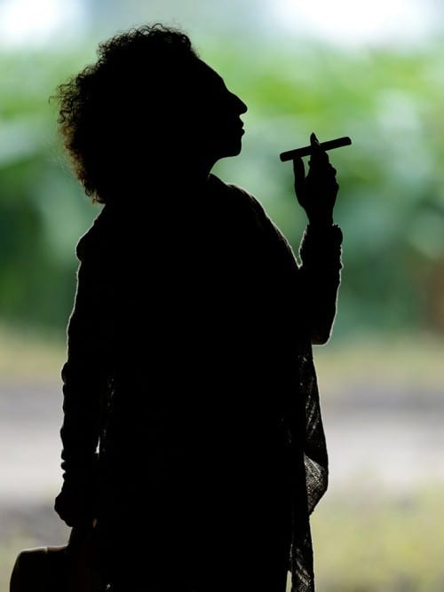 maya selva silhouette black