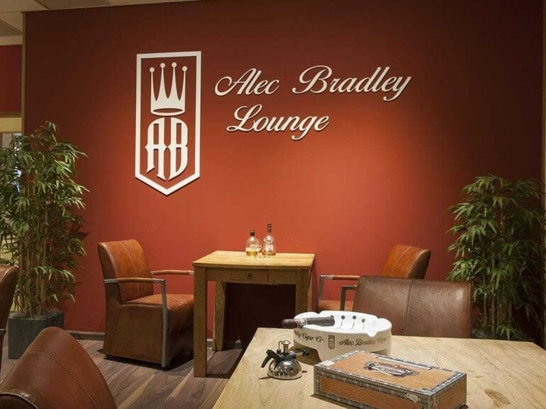 Alec Bradley Lounge Gronau Germany