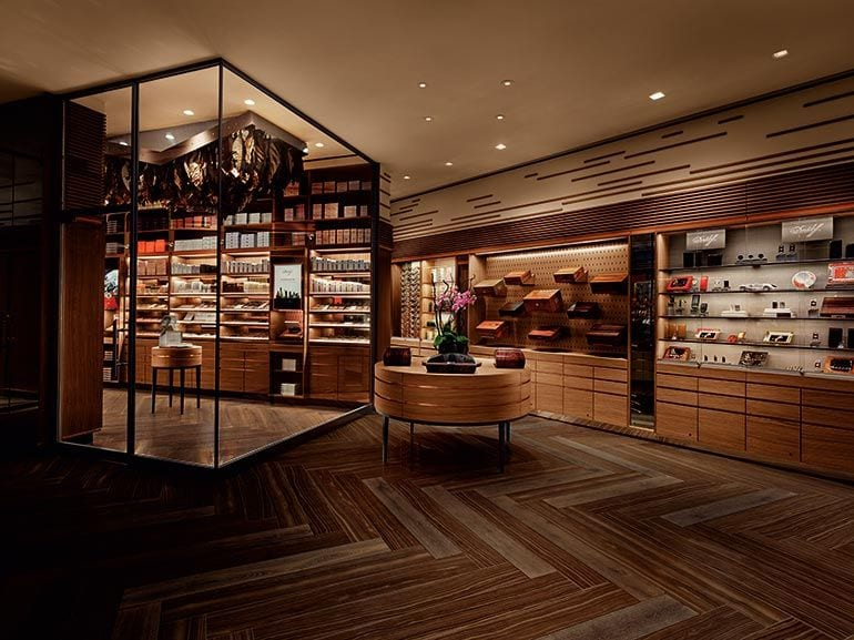 Davidoff Opens Flagship Store and Lounge in Downtown