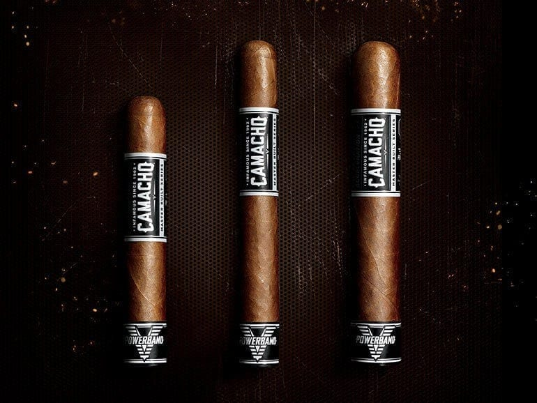 Camacho Powerband Cigar Lineup