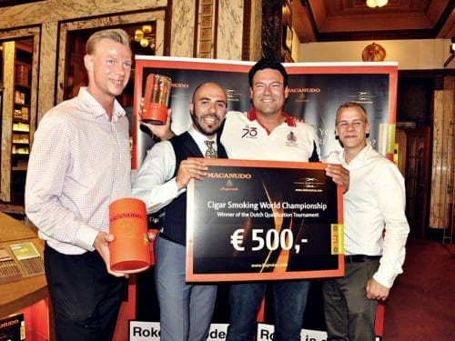 Dutch qualification tournament to the Cigar Smoking World Championship