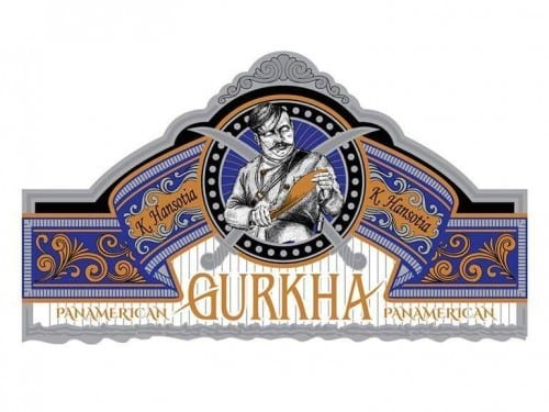 Gurkha Pan American Cigar Band