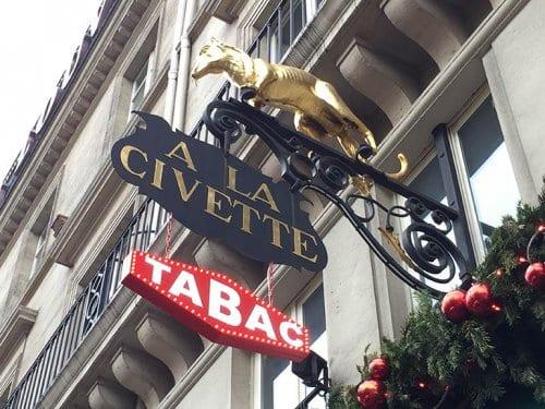 A la Civette Cigar Shop Paris