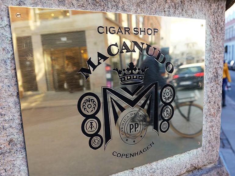Cigar Shop Macanudo Copenhagen