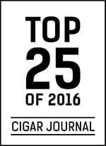 Cigar Journal Top 25 Cigars of 2016