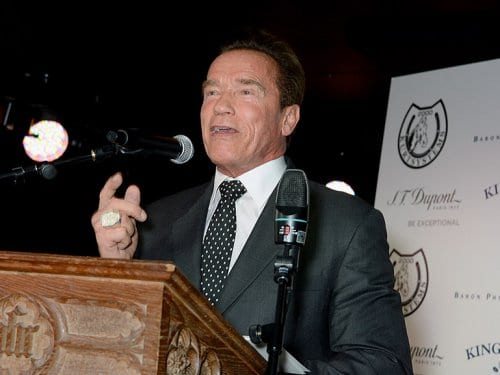 Arnold Schwarzenegger Cigar Smoker of the Year