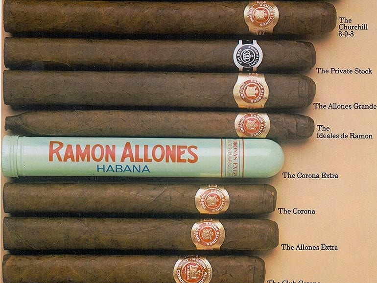 image relating to Cigar Ring Gauge Chart Printable identified as The moment a Gigantic Model, Ramón Allones contains Confronted a Reliable Descent