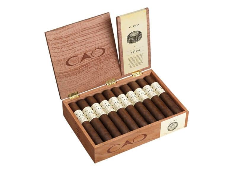 CAP Pilon Open Cigar Box