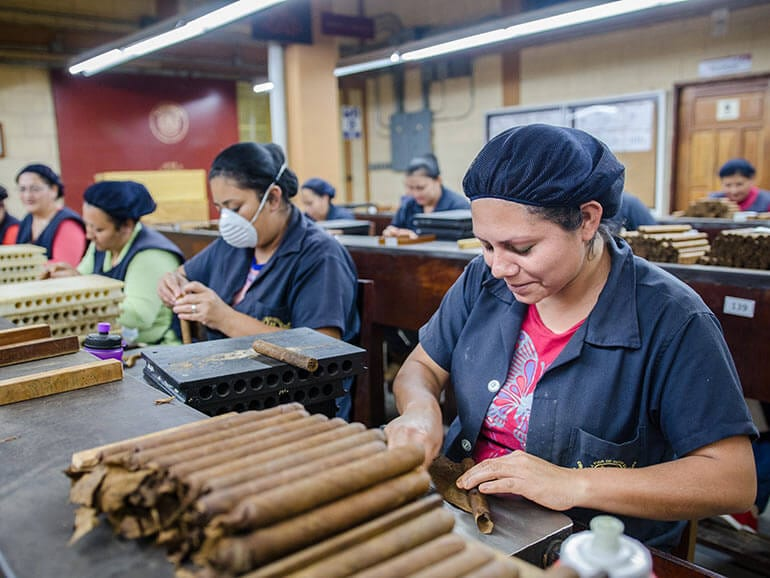The History of the Factory Flor de Copán
