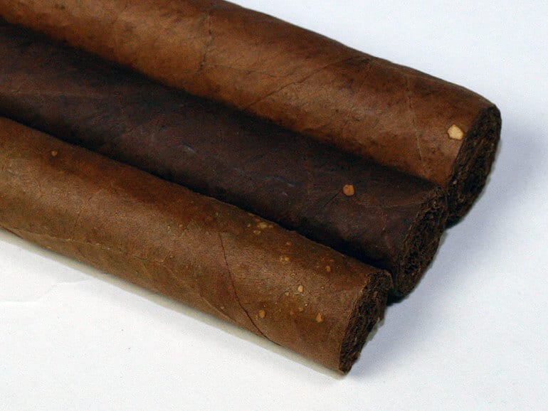 Yellow Spots on a Cigar Wrapper