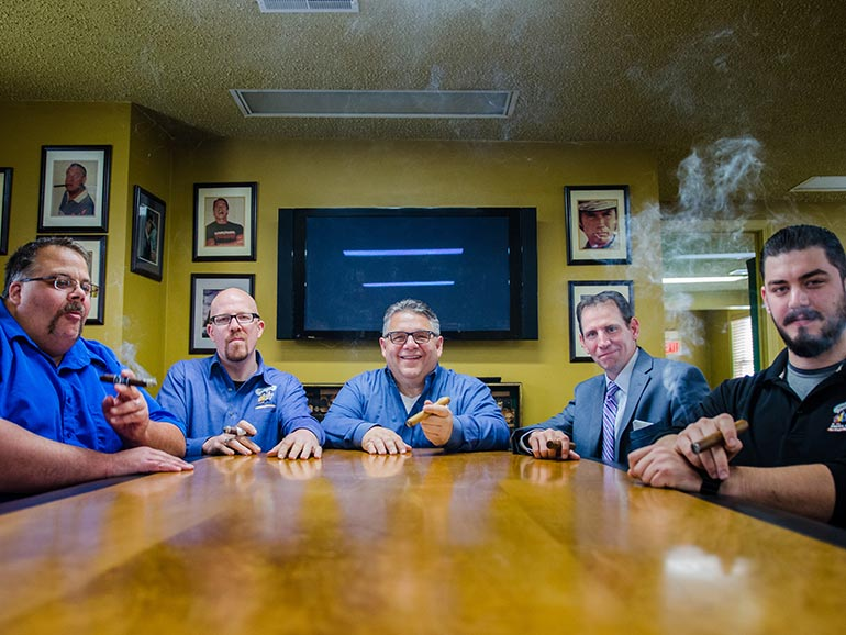 The Cigar Authority Team Ambassador Award
