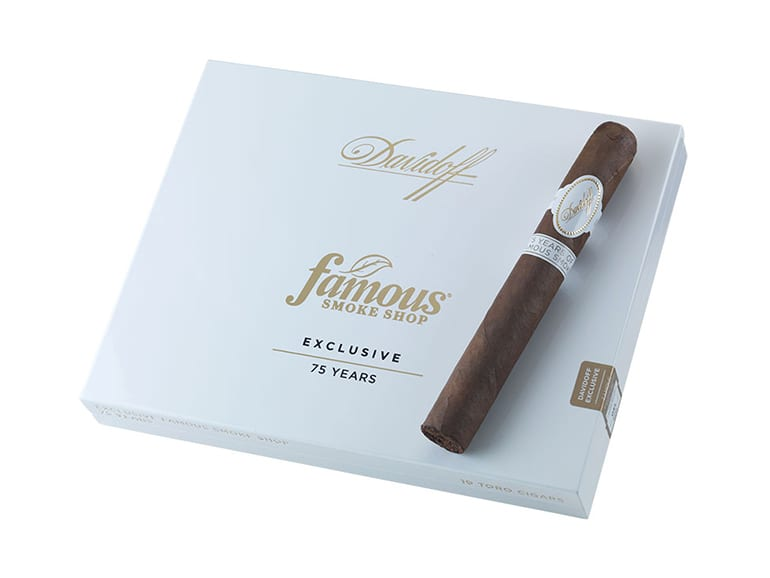 Davidoff Exclusive Famous Smoke Shop 75th