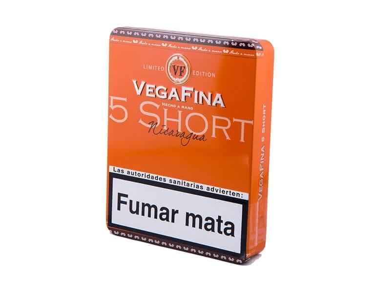 Vegafina Nicaragua Short Tin