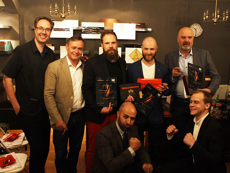 Cigar Smoking World Championship at Augusto Cigars in Oslo