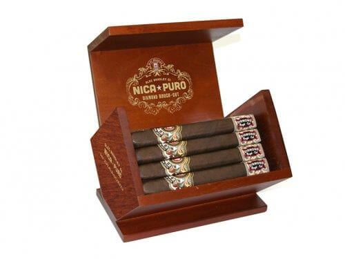 Alec Bradley Nica Puro Diamond Cigar Box