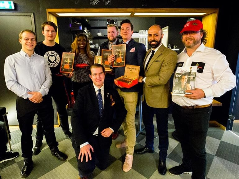 Winners of the Swedish Cigar Smokin World Championship qualification tournament2017