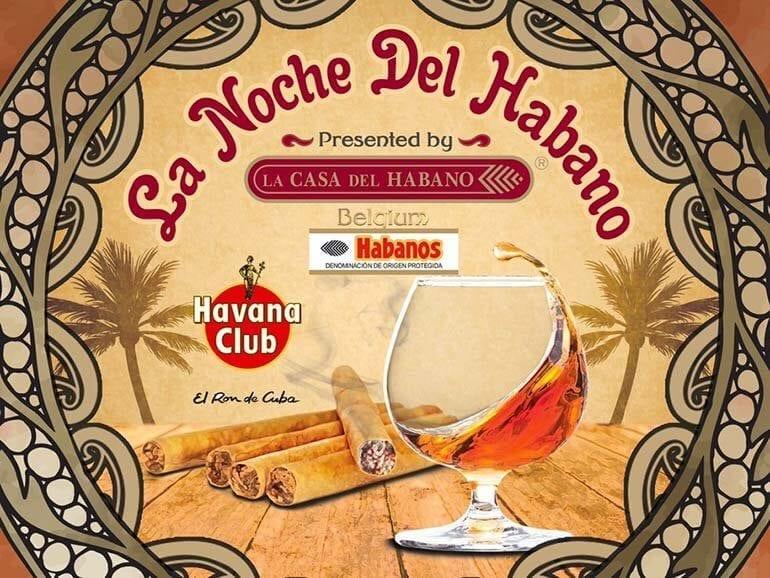 La Noche del Habano Cigar Event Brussels 2017