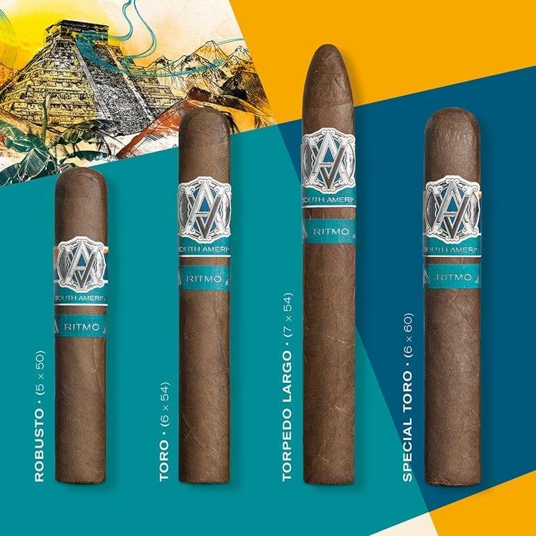 AVO Syncro South America Ritmo Cigar Sizes