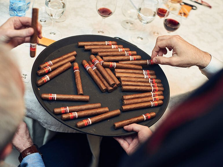 Cigar Smoking World Championship Qualification Tournament in Russia 2017