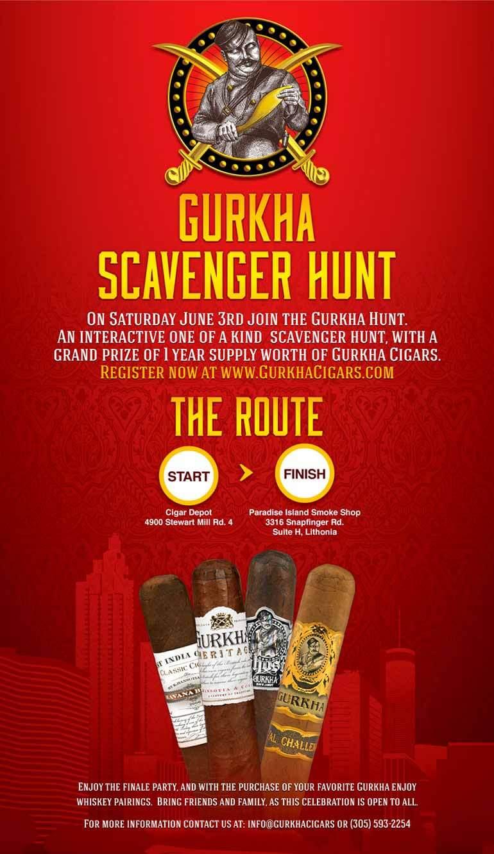 Gurkha Scavenger Hunt Atlanta 2017