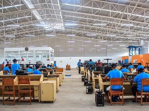 New Camacho Factory Honduras