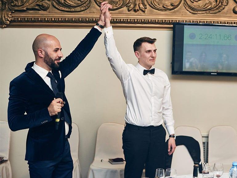 Oleg Pedan wins Russian Slow Cigar Smoking Competition 2017