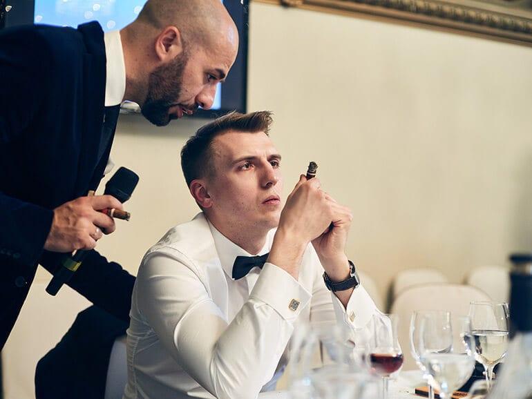 Cigar Smoking World Championship Qualification Tournament in Russia 2017