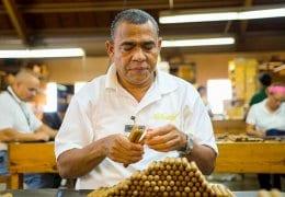 Quality control cigar factory