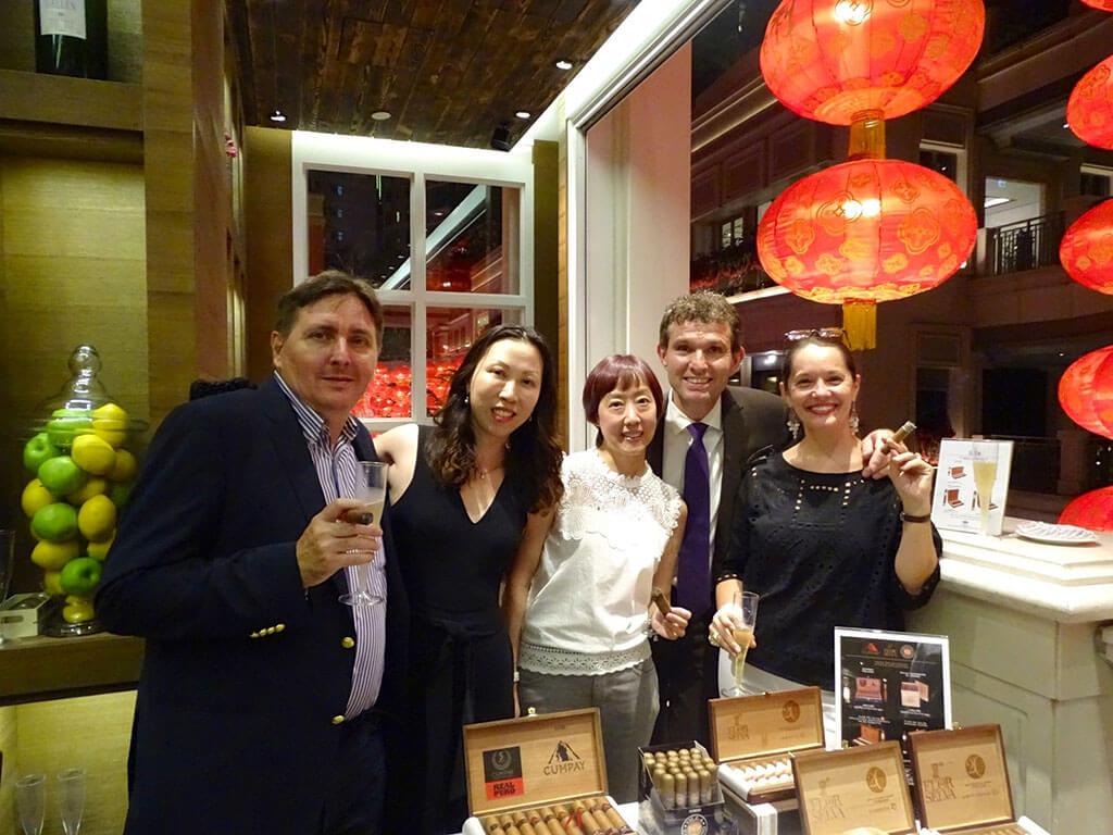 Cigraal at Chef's night in Hong Kong