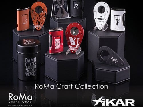 Roma Craft and Xikar cooperation