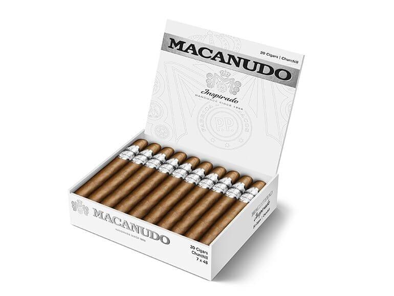 Macanudo Inspirado White Cigar Box