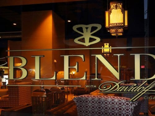 Blend Bar with Davidoff Cigars