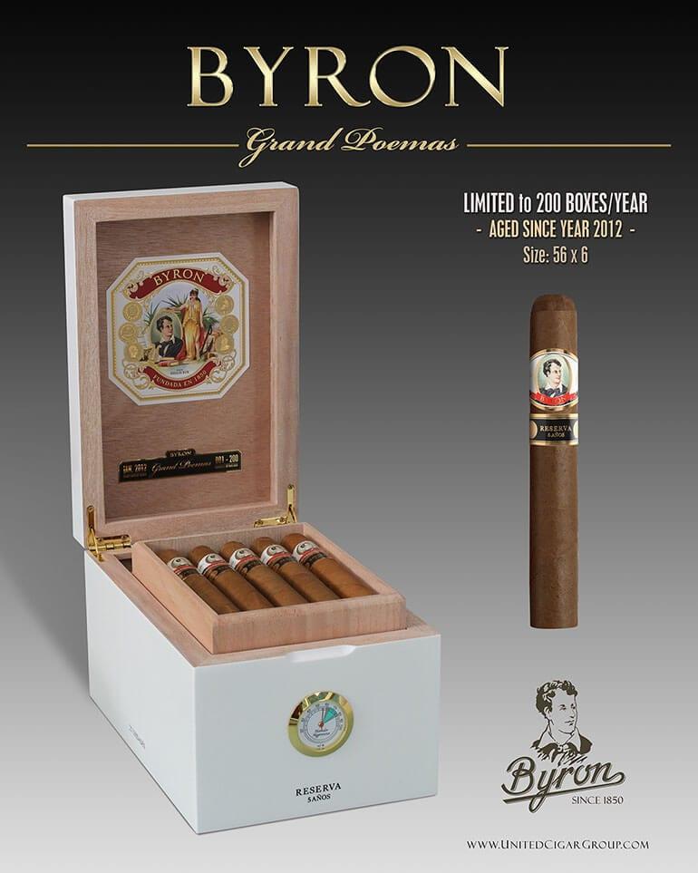 Byron Cigars Packaging