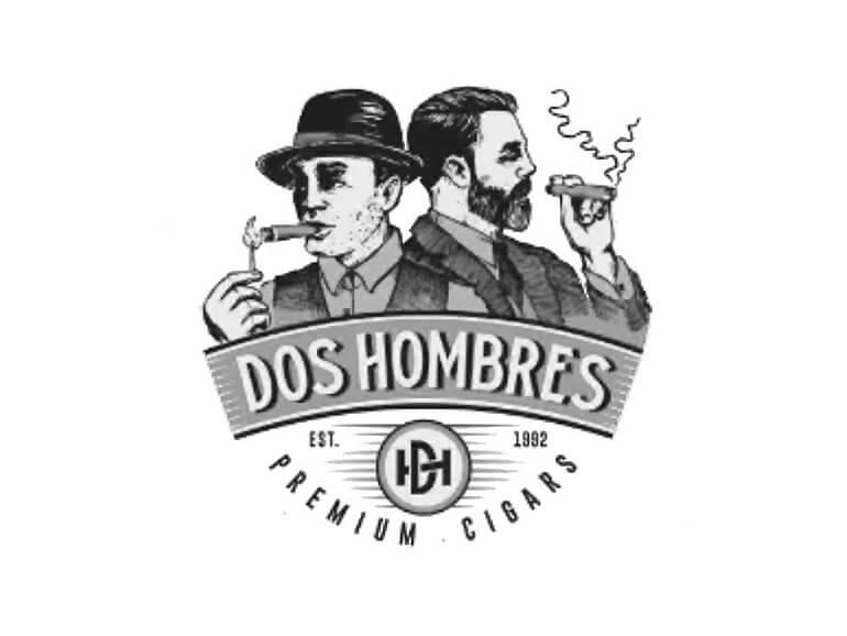 Dos Hombres Cigars Logo