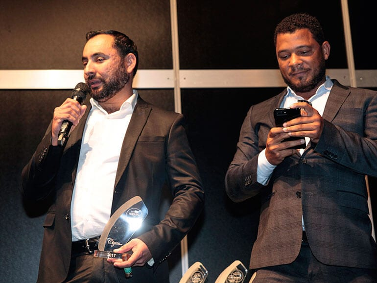 Cigar Trophy Awards Ceremony 2017: Best Brand Honduras - Oscar Valladares, The Oscar