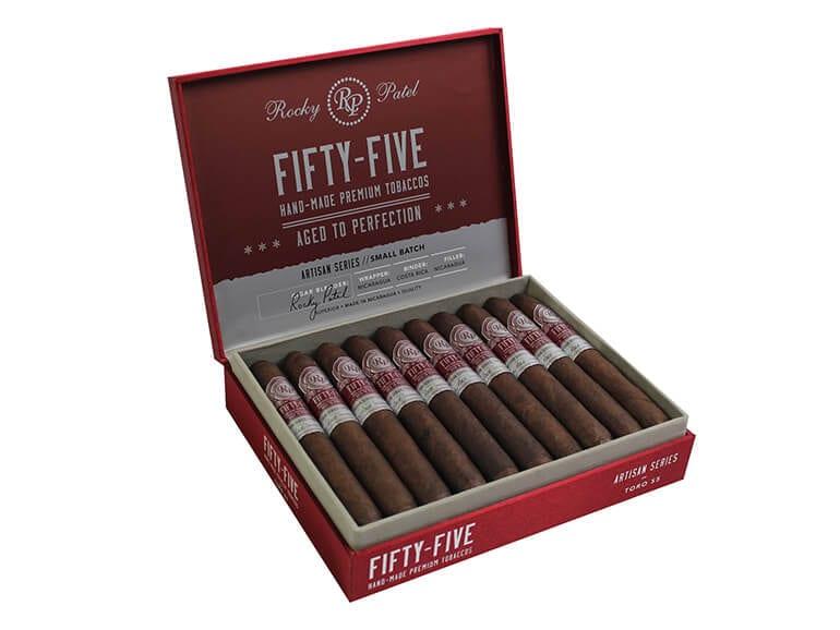 Rocky Patel Fifty-Five Cigar Box