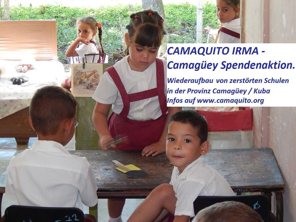 Spendenaktion Irma Camaquito