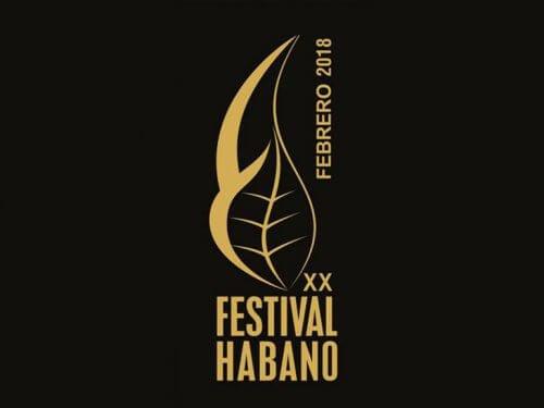 XX Festival del Habano 2018 Logo