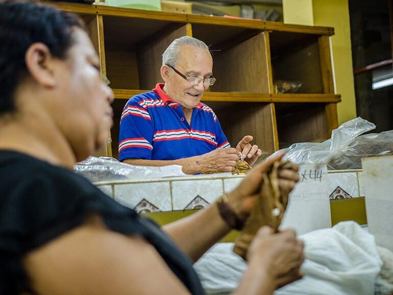 Humberto García Alayon of La Zona Cigar Factory in Estelí, Nicaragua