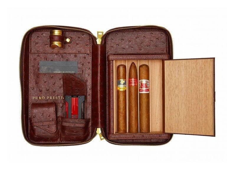 Puro Prestige Hemingway Edition Cigar Travel Case
